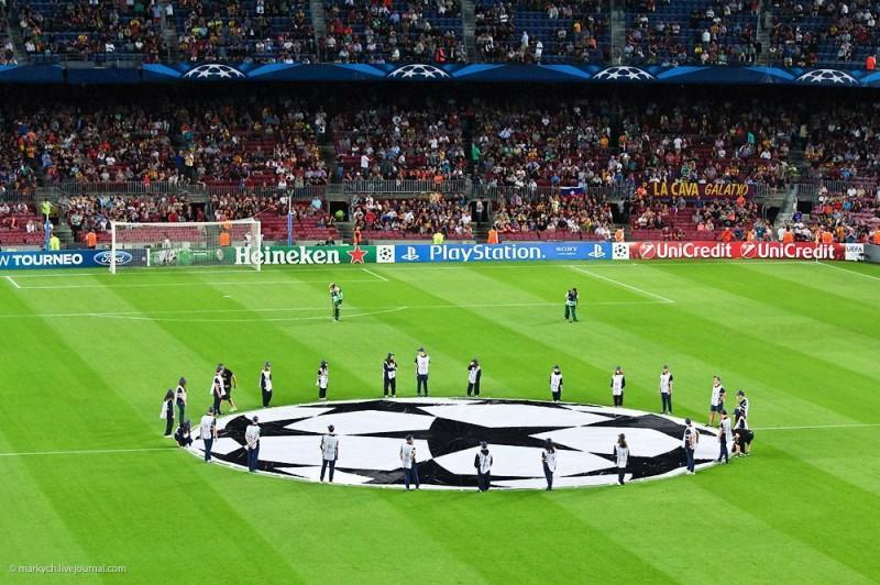 Большой футбол в Барселоне