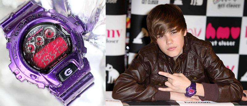 Bieber Какие часы носят знаменитости