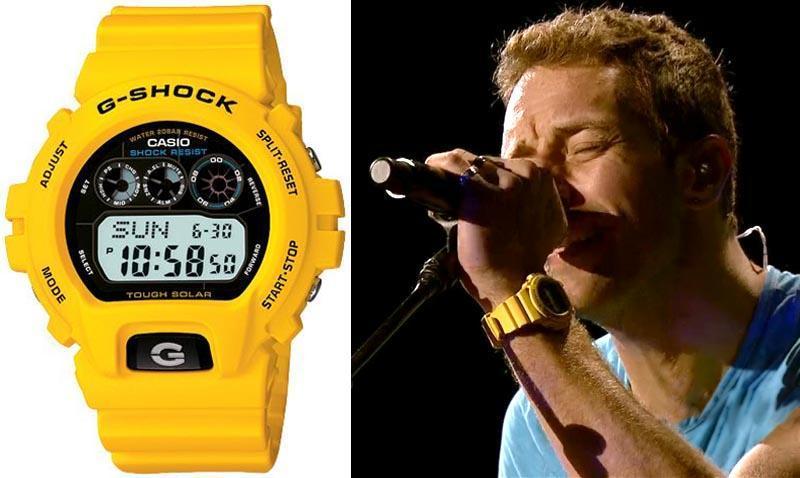 Chris Martin  Какие часы носят знаменитости