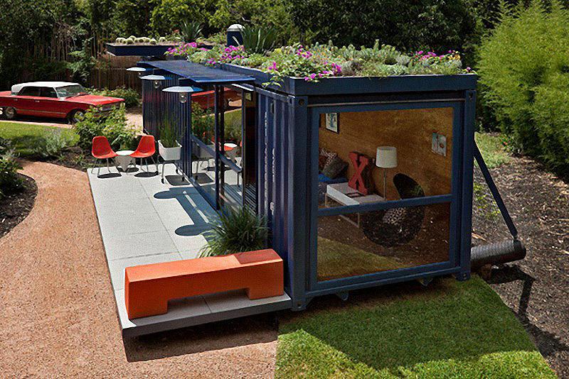 Containers04 Дома из контейнеров