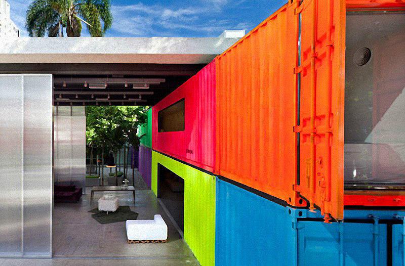 Containers17 Дома из контейнеров