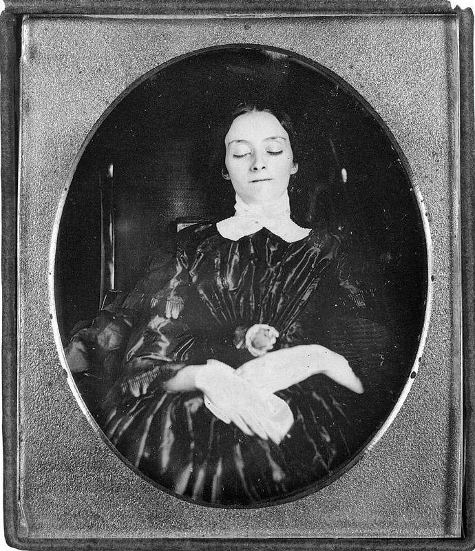 From1800s01 Посмертные портреты времен королевы Виктории