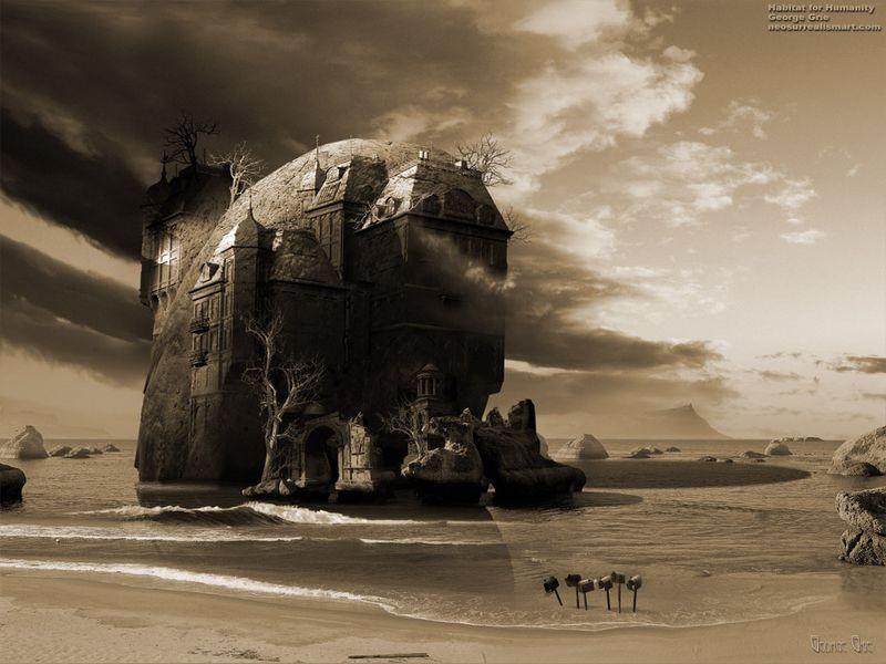 Grie03 Сюрреалистические миры от Джоржа Грие