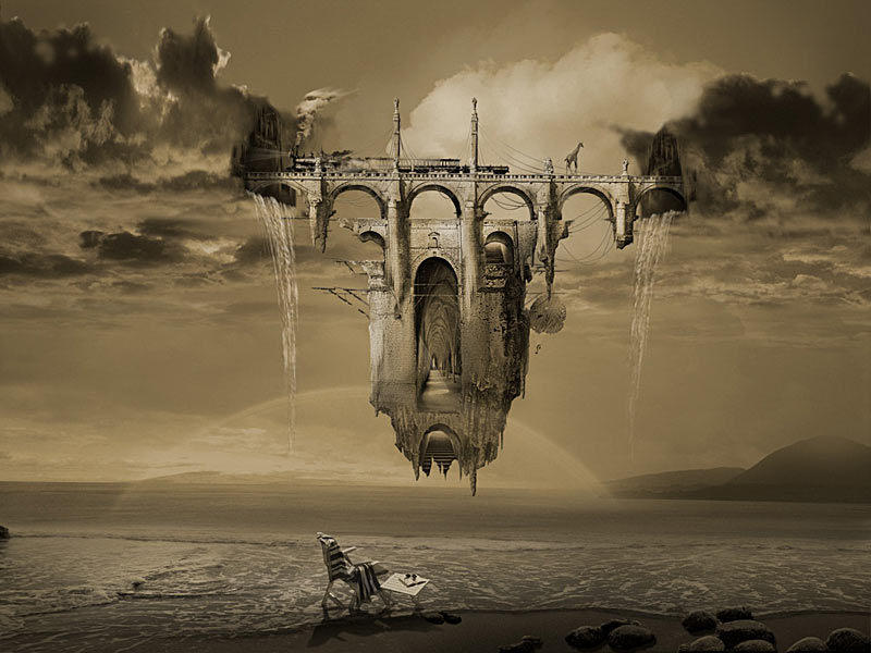 Grie15 Сюрреалистические миры от Джоржа Грие
