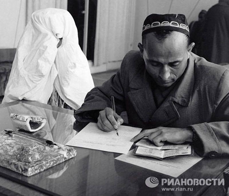 Marriage06 Любопытные факты о бракосочетаниях в СССР
