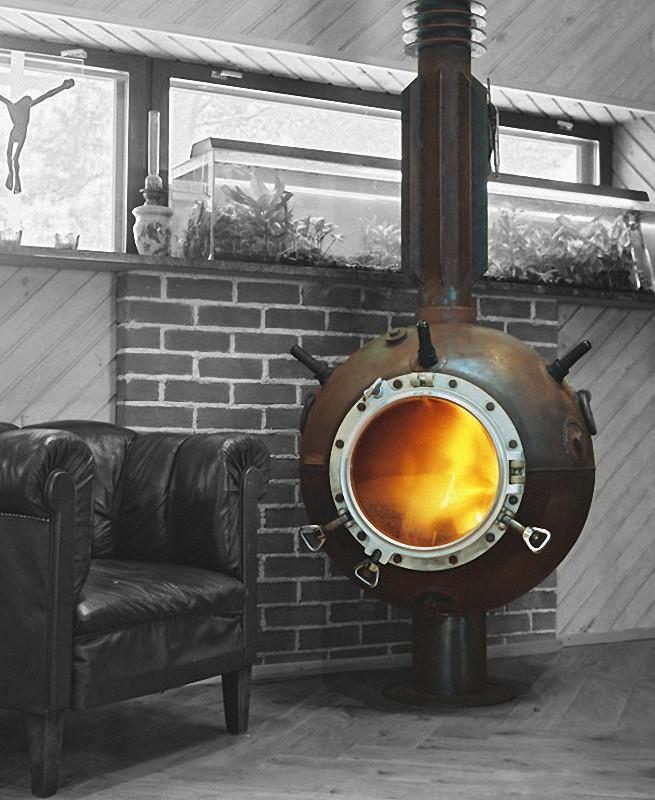Navalmine03 Мебель из старых морских мин