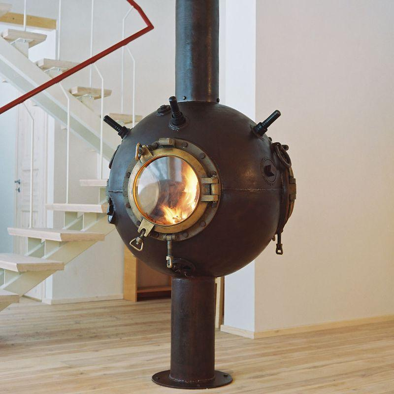Navalmine07 Мебель из старых морских мин