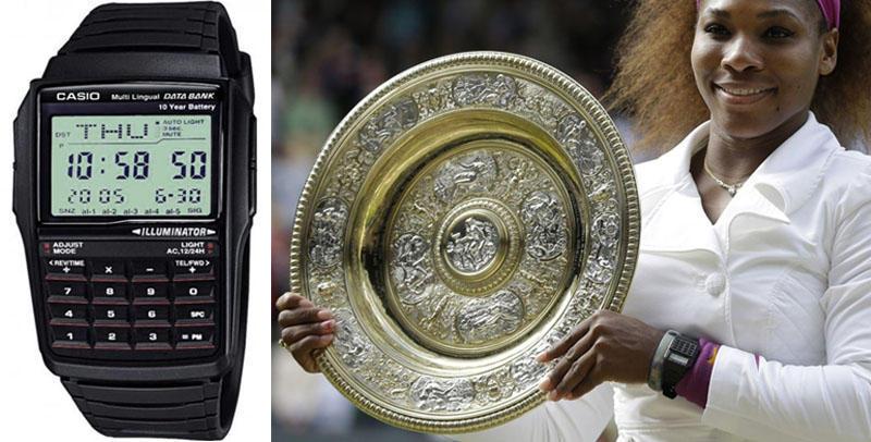 Serena Какие часы носят знаменитости