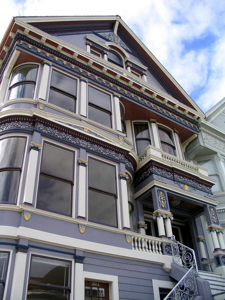 Steiner06 Яркая достопримечательность Сан Франциско: викторианские дома Painted Ladies
