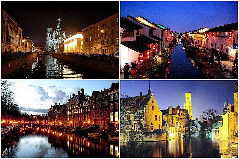 10 городов на воде, которые стоить посетить