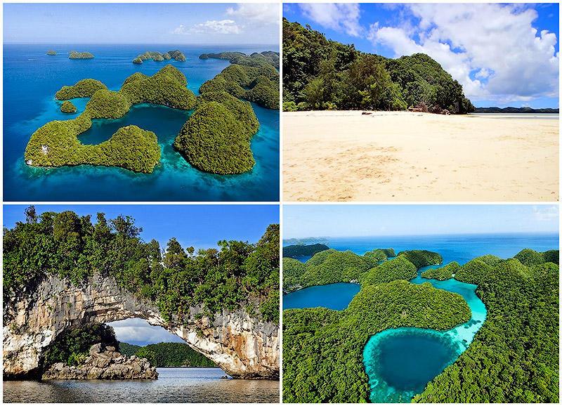 TEMP15 Скалистые острова Палау