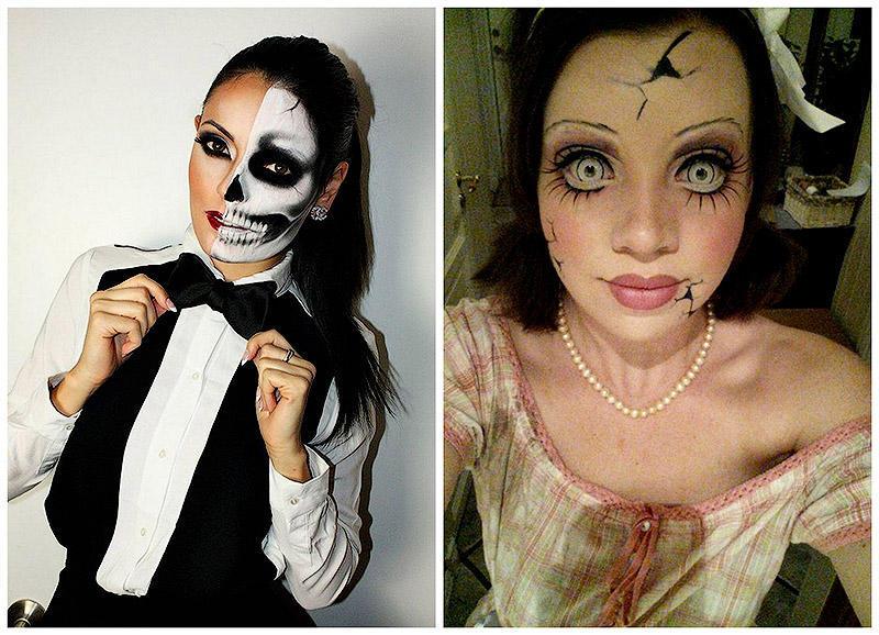 TEMP18 10 невероятных идей для макияжа на Хэллоуин