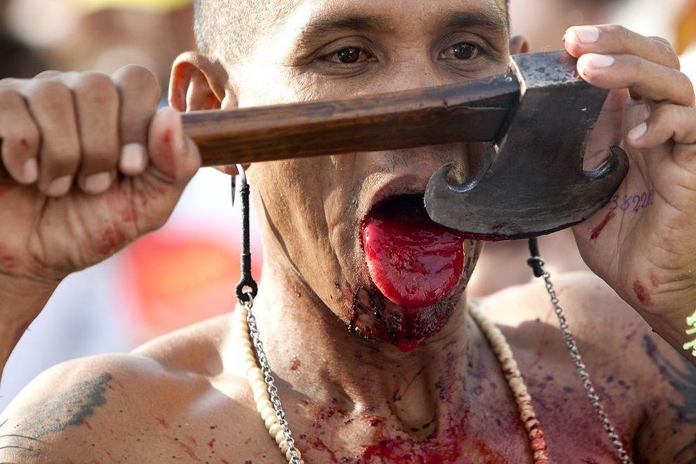 VegetarianFest09 Самые шокирующие фото с фестиваля вегетарианцев