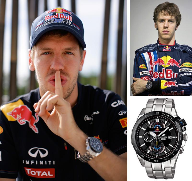 Vettel Какие часы носят знаменитости