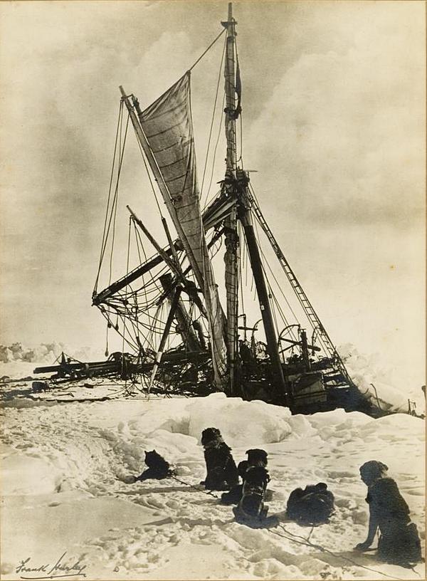antarctica02 Самые впечатляющие фотографии Антарктиды начала 20 века
