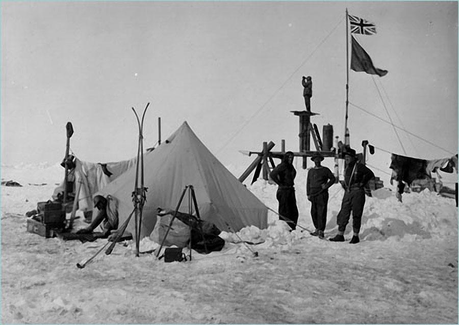 antarctica03 Самые впечатляющие фотографии Антарктиды начала 20 века