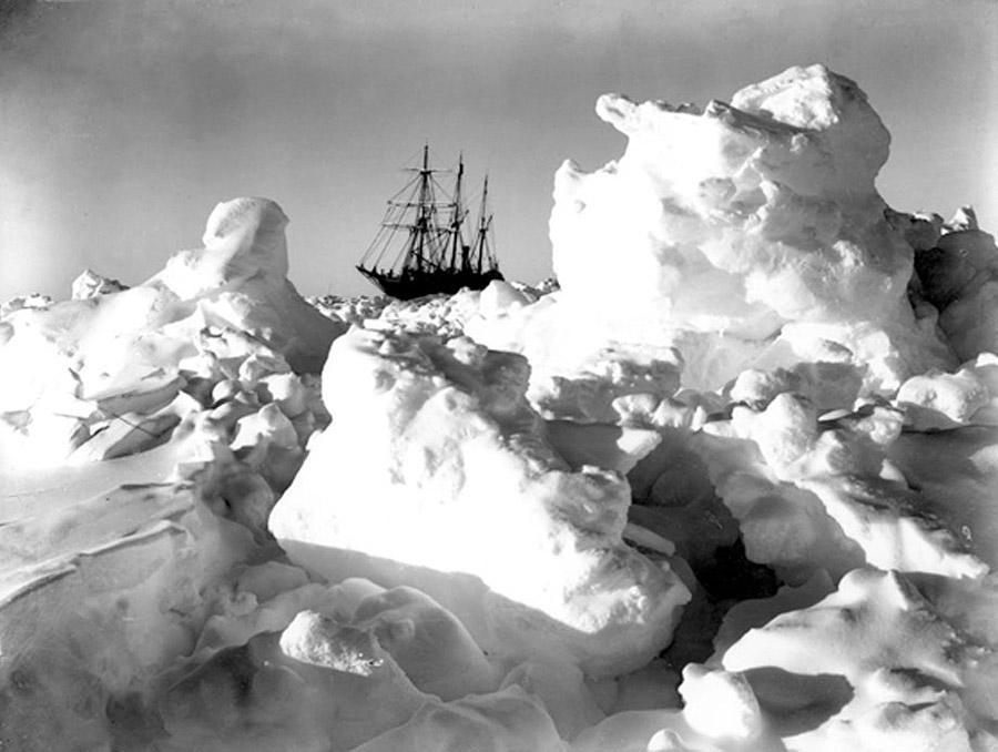 antarctica04 Самые впечатляющие фотографии Антарктиды начала 20 века