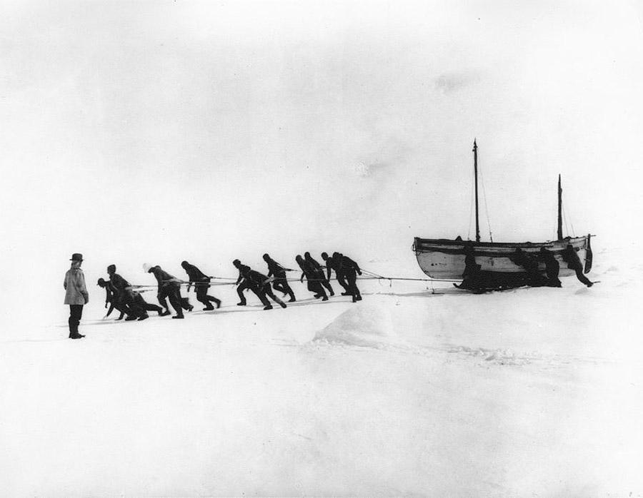 antarctica05 Самые впечатляющие фотографии Антарктиды начала 20 века