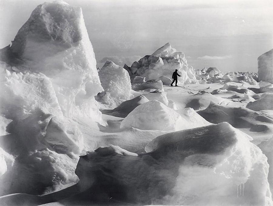 antarctica16 Самые впечатляющие фотографии Антарктиды начала 20 века