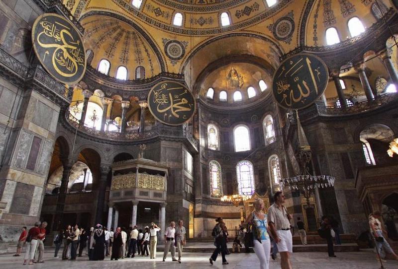 7. Собор Святой Софии, Стамбул