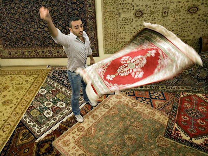 8. Турецкие ковры