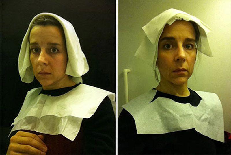 Фламандские портреты XV века, «воссозданные» в туалете самолета. ФОТО