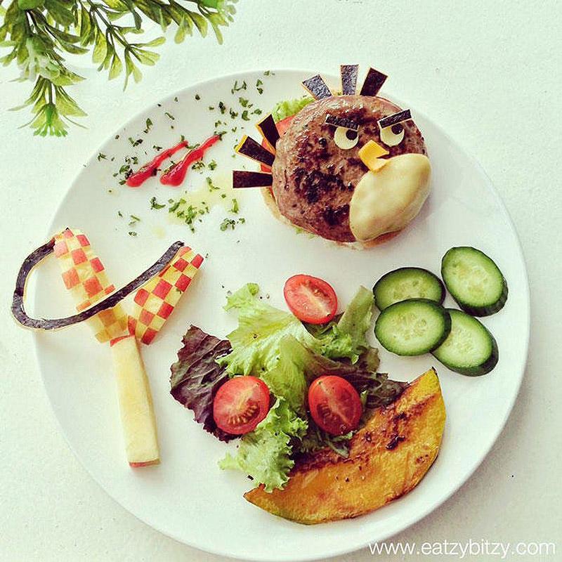 leesamantha14 Художница превращает блюда в шедевры
