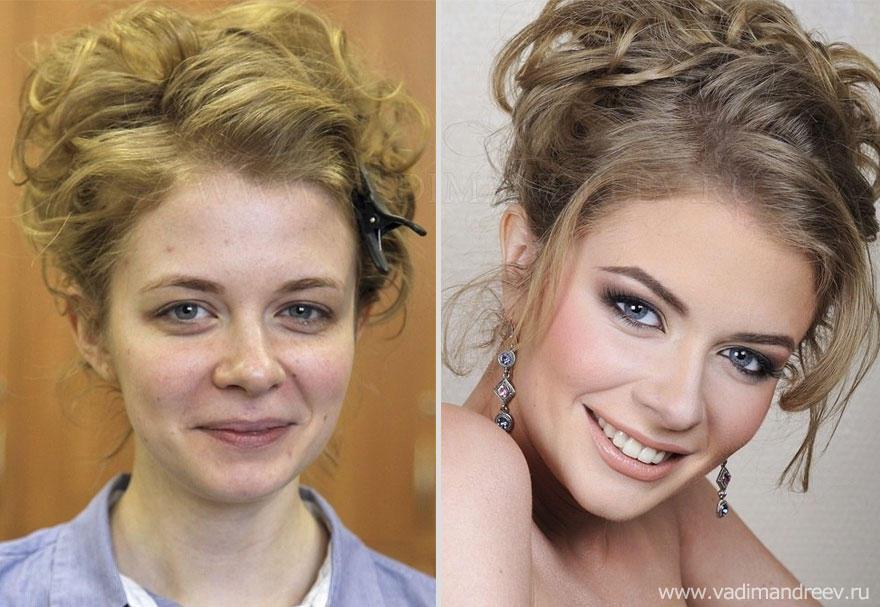 makeup02 Невероятно, но факт: визажист творит настоящие чудеса!