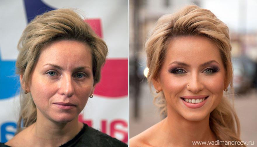 makeup03 Невероятно, но факт: визажист творит настоящие чудеса!
