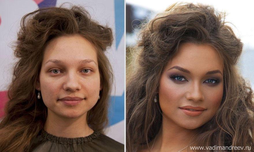 makeup07 Otroligt men sant: makeup artist gör underverk!