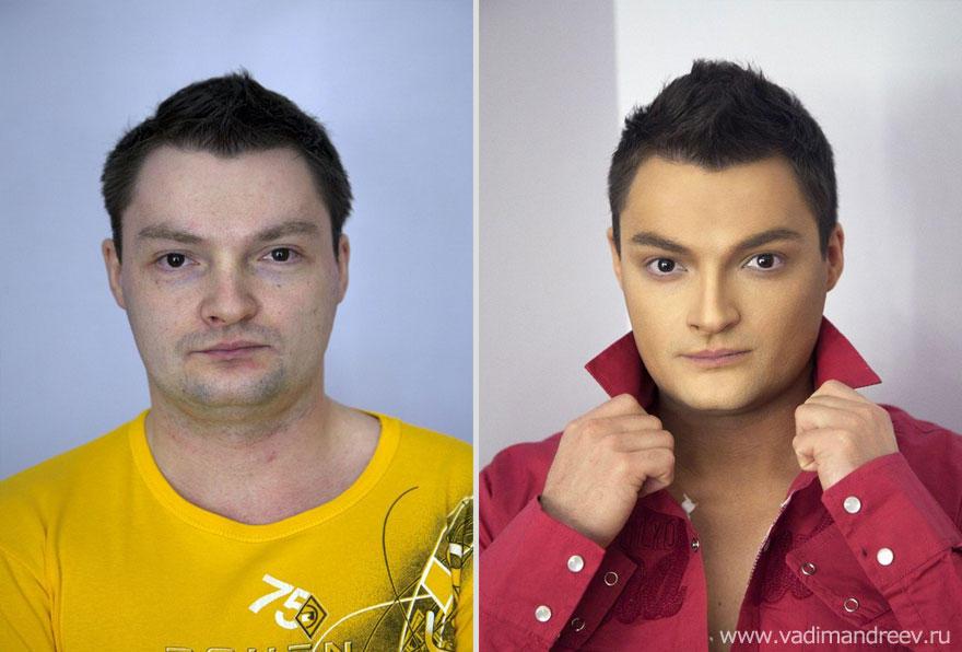 makeup11 Невероятно, но факт: визажист творит настоящие чудеса!