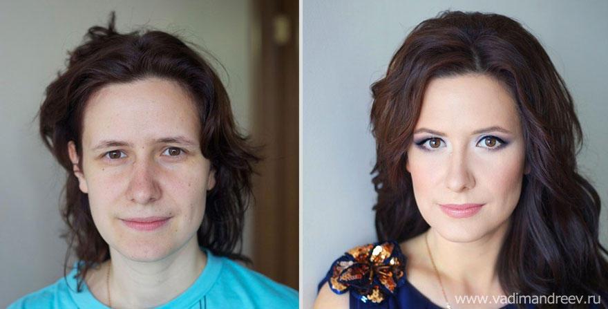 makeup12 Otroligt men sant: makeup artist gör underverk!