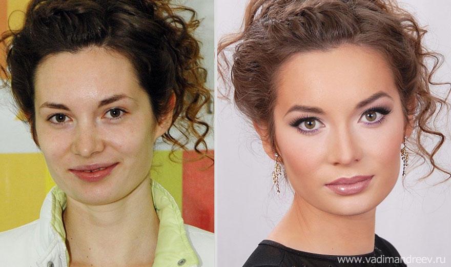 makeup17 Невероятно, но факт: визажист творит настоящие чудеса!