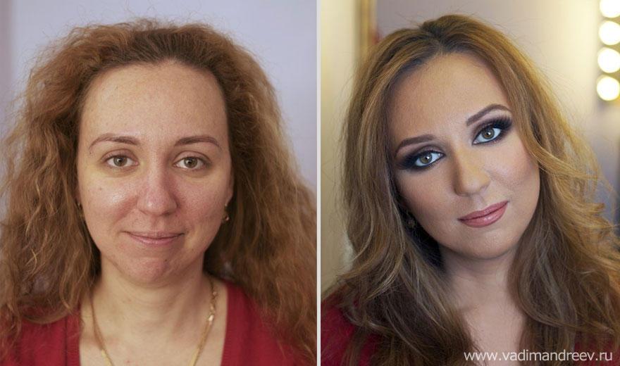 makeup18 Otroligt men sant: makeup artist gör underverk!