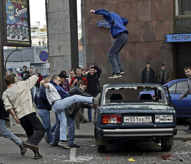 Самые крупные массовые беспорядки в Москве с начала века