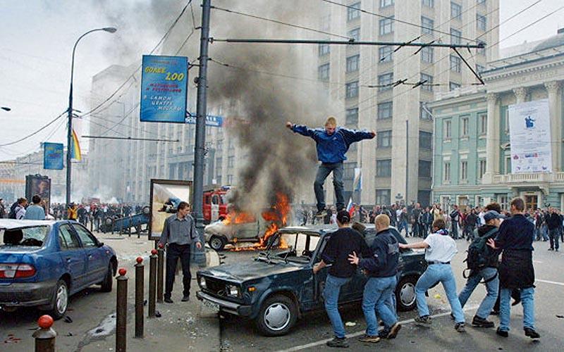 moscow02 Самые крупные массовые беспорядки в Москве с начала века
