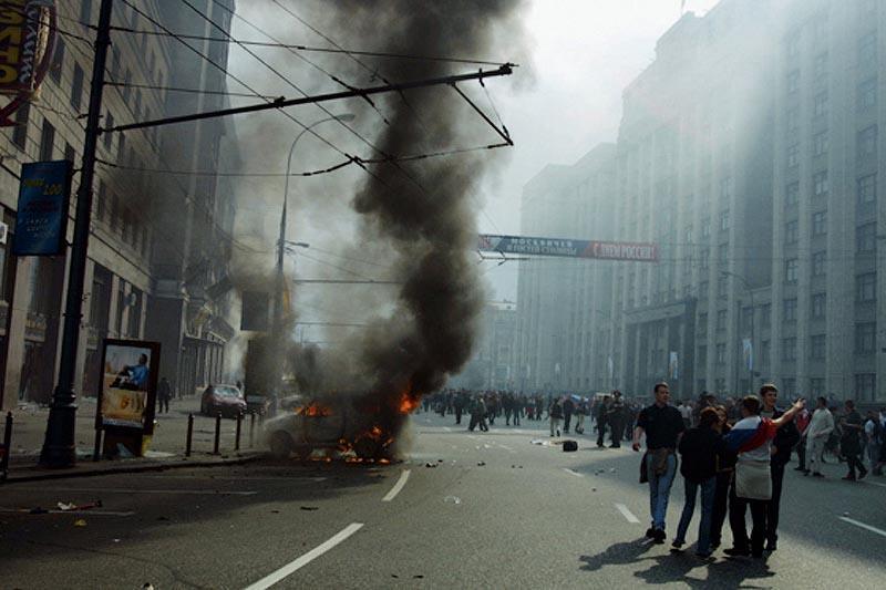 moscow03 Самые крупные массовые беспорядки в Москве с начала века