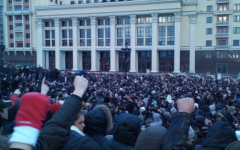 moscow04 Самые крупные массовые беспорядки в Москве с начала века