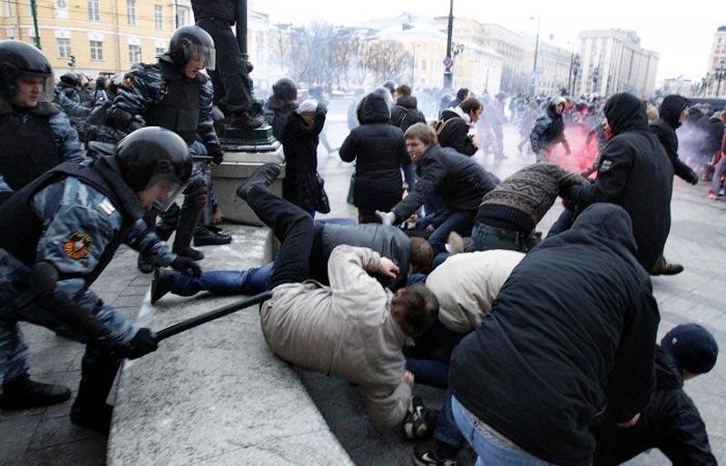 moscow05 Самые крупные массовые беспорядки в Москве с начала века