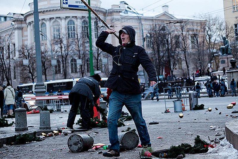 moscow06 Самые крупные массовые беспорядки в Москве с начала века