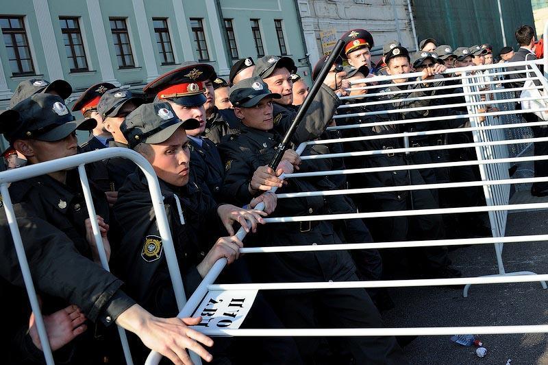 moscow07 Самые крупные массовые беспорядки в Москве с начала века