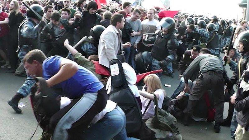 moscow09 Самые крупные массовые беспорядки в Москве с начала века
