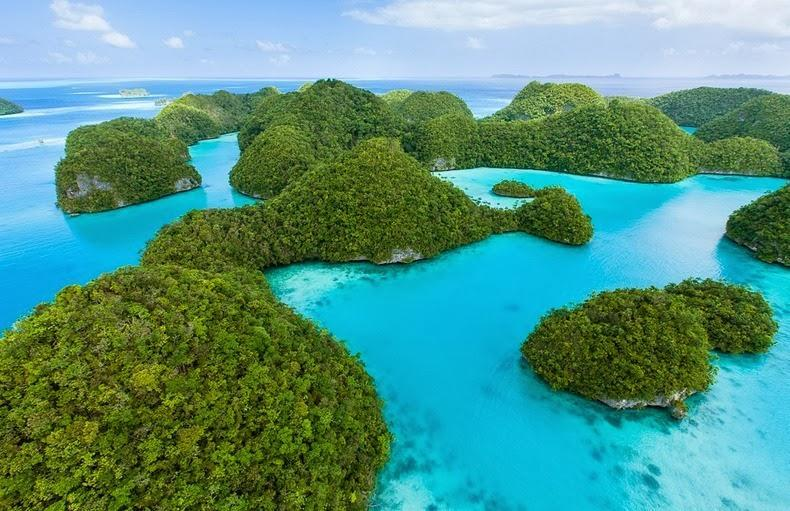 palau01 Скалистые острова Палау