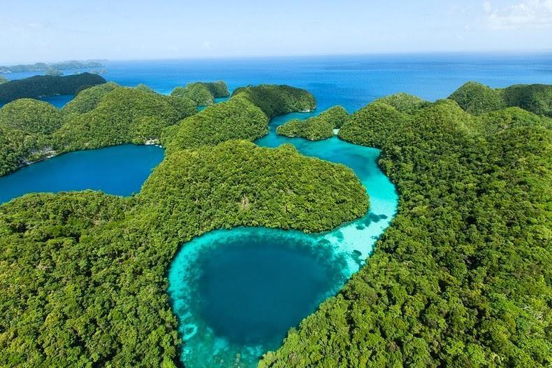palau03 Скалистые острова Палау