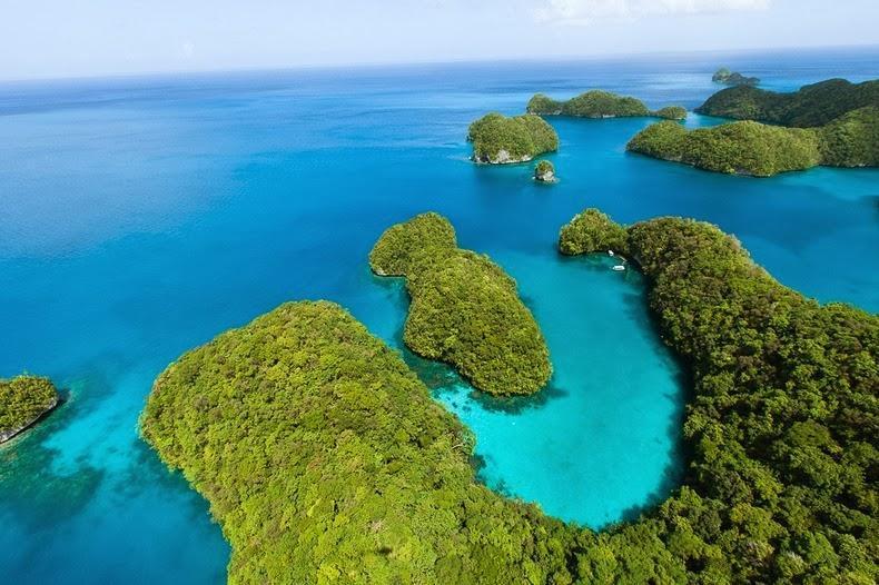 palau04 Скалистые острова Палау