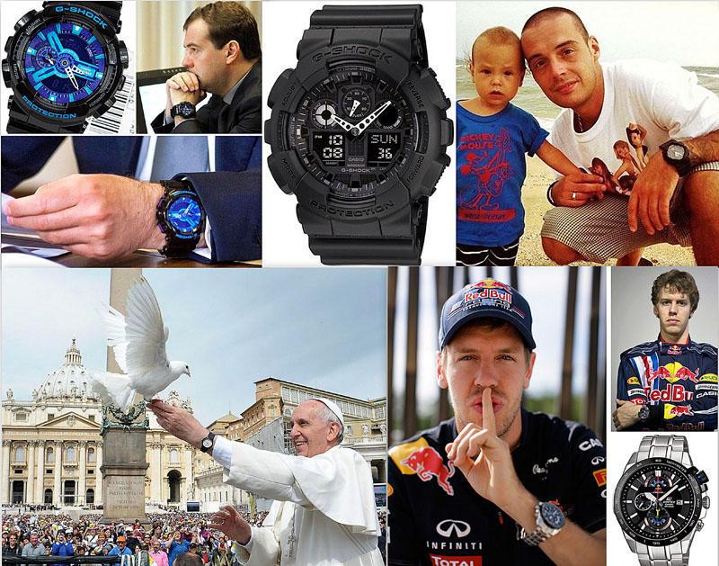 reklama9 Какие часы носят знаменитости