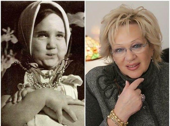 sovietactresses06 Легендарные советские актрисы в детстве и в возрасте