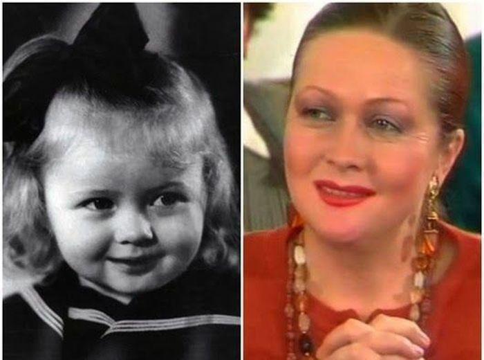 sovietactresses07 Легендарные советские актрисы в детстве и в возрасте