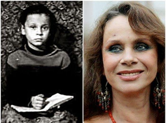 sovietactresses08 Легендарные советские актрисы в детстве и в возрасте