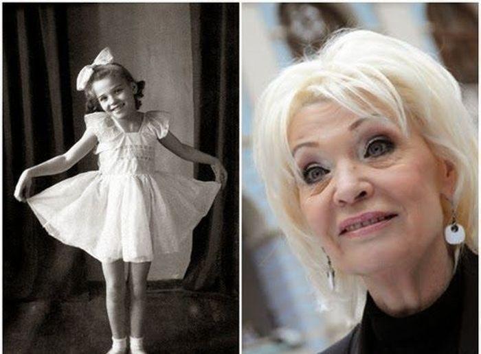 sovietactresses10 Легендарные советские актрисы в детстве и в возрасте